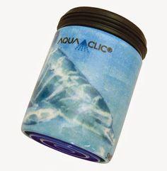 Spart bis zu 50% Wasser und Energie am Wasserhahn: AquaClic Dolphin + Baby aus Messing. Gesehen für € 24,95 bei kloundco.de.