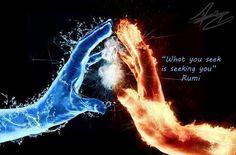 rumi what you seek is seeking you - Google Search