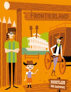 Shag x Disney - Frontierland