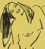 Ernst Ludwig Kirchner. Hannah Dancing (Hannah tanzend). (1910)