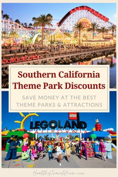 Southern California is home to some of the best theme parks and attractions in the world! And the good news is - you never have to pay full price for tickets! Here's a link to get the best discounts at SoCal theme parks. #disneyland #seaworld #legoland #california California Attractions, Legoland California, California Destinations, California Vacation, Family Vacation Spots, Disneyland Vacation, Disneyland Tips, Family Vacation Destinations, California With Kids