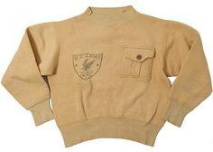U.S.ARMY Printed Sweatshirt, 1930's
