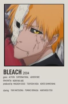Bleach Anime, Film Anime, Anime Titles, Otaku Anime, Anime Manga, Ukitake Bleach, Mini Poster, Poster Anime, Anime Suggestions