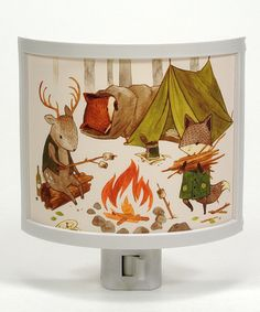Another great find on #zulily! Camping Friends Night-Light by Common Rebels #zulilyfinds