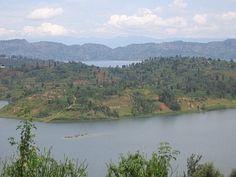 The lushness of Rwanda.