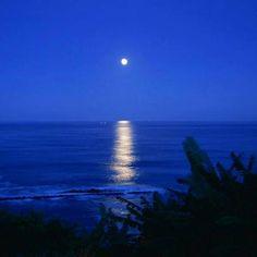 Luna con reflejo
