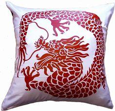 Artiwa Asian Throw Decorative Silk Pillow Cover Cream & Red with Dragon - Gift for Christmas, Feng Shui Item Artiwa,http://www.amazon.com/dp/B00851X4WM/ref=cm_sw_r_pi_dp_pj5gtb16Q2CZME4K