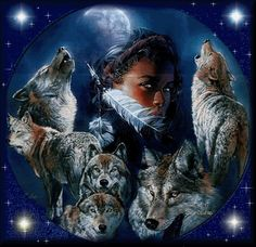 Kim,Usdi Tsayoga♥Owner's Page - Native Spirits Tribal Community Native American Pictures, Native American Artwork, Indian Pictures, American Indian Girl, Native American Women, American Indians, Wolf Photos, Wolf Pictures, Wolf Background