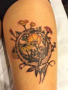 My very fresh ouroboros done back in December by Devin Mena at Laguna Tattoo in Laguna, CA - Imgur