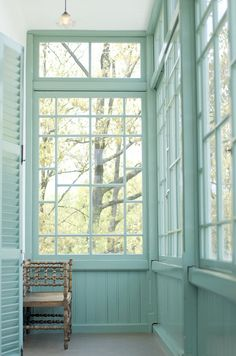 #design #interior #inspiration {Love these windows and paint color}