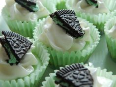 Weight watcher recipes..Mini mint oreo cheesecake bites by drizzle me skinny
