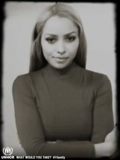 American actress Kat Graham, 'If I could only take one thing with me and we were fleeing I would take my engagement ring.  It's the one thing for me that means the most – it means hope, and love, and sacrifice and really a future.  That's what I take with me to get me through.' Visit 1family: http://www.unhcr.org/1family