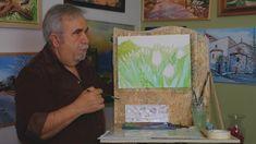 ΣχεδιαΖΩγραφίζω ...  Χιώτικες Λαλάδες/ painting with watercolor wild tul... Watercolors, Watercolor Paintings, Tv Shows, Cover, Art, Art Background, Water Colors, Kunst, Performing Arts