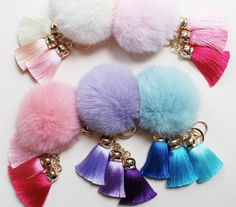We+know+you+like+the+most+unique+accessories+so+we+brought+you+the+most+chic+Pom+Pom+yet;+the+Rabbit+Fur+Tassel+Keychains.+  Get+them+while+they+last!+  Special+Introductory+Sale+Price+for+$15+each+or+2/$25!+ Regular+$25+each+