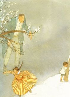 The Selfish Giant by Oscar Wilde Illustrated by Lisbeth Zwerger