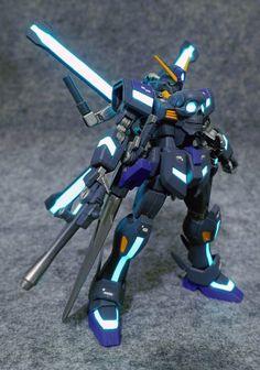 GUNDAM GUY: HG 1/144 Gundam X Maoh - Customized Build
