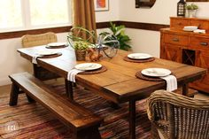 Build Your Own Farmhouse Table