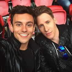 Pin for Later: 18 Power Couples Who Are Slaying (or Will Soon Slay) Same-Sex Marriage Tom Daley and Dustin Lance Black: Engaged