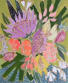 FLOWERS FOR CHLOE - 16x20