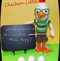 Free Chicken Little Doll Pattern©