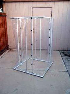 A homemade spray booth for putting custom paint jobs on your case mods. Airbrush Spray Booth, Spray Paint Booth, Recycled Furniture, Painted Furniture, Diy Sanding, Workshop Storage, Garage Workshop, Model Cars Kits, Metal Pipe