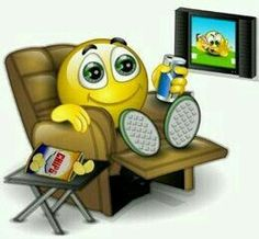 Watch TV Smiley
