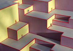 Maria Cristina Finucci: Microworlds, 2010