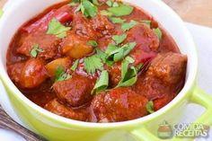 Receita de Carne assada ao molho de tomate em receitas de carnes, veja essa e outras receitas aqui!