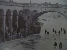 1891 patin sous le pont romains