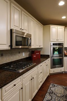Model Home White Kitchen kitchen cabinet door styles kitchen cabinets | kitchens
