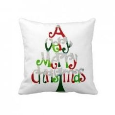 A Christmas throw pillow is a great way to add the holiday spirit throughout your home.