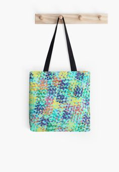 Enjoy The Colored Dots / Mosaic,color,colorful,overlap,superposition,point,punctuate,dot,stipple,speck,dapple,fleck,mottle,pit,speckle,sprinkle,trickle,Standard Print Clothing,Contrast Tanks,Women's Chiffon Tops,Graphic T-Shirts,Stickers,Phone Cases & Skins,Phone Wallets,Prints, Cards & Posters,Pillows & Totes,Pouches, Laptop Skins & Sleeves,Duvets,Mugs,Travel Mugs,Leggings,Mini Skirts,Scarves, • Also buy this artwork on bags, apparel, stickers, ...
