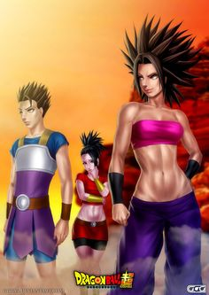 Saiyans of the sixth universe by GGG85.deviantart.com on @DeviantArt - More at https://pinterest.com/supergirlsart #u6 #dragon #ball #super #dragonball #dbs #kyabe #cabba #kabe #caulifla #kale #sexy #saiyans #saiyan #girl #girls #fanart #anime
