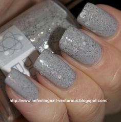 Nerd Lacquer Don't Blink...<3 this color