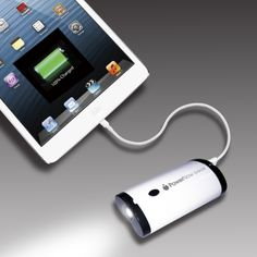 Keep you iPad Mini going all day long without low power alert with PowerNow Grande!