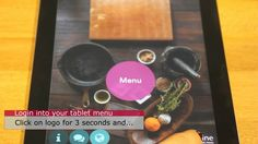 How to manage Shop Settings in FineDine Tablet Menu - Menu Control Panel. Digital Menu, Control Panel, Video Tutorials, Ipad, Sign, Food Menu, Cards, Signs, Board
