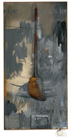 Jasper Johns Fools House 1962 Oil on canvas with objects Robert Rauschenberg, Tachisme, Josef Albers, Willem De Kooning, Pop Art, Andy Warhol, Centre Des Arts, Abstract Expressionism, Abstract Art