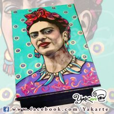 Frida- Caja Mágica by Yakarte www.facebook.com/Yakarte