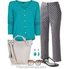 Turquoise Touches by fiftynotfrumpy on Polyvore