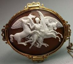 RAREST CAMEO OF THE GODDESS OF VICTORY CONDUCTING THE HORSES OF THE SUN, LAYAWAY
