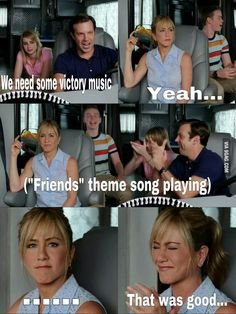 That One Time They Pranked Jennifer Aniston While Filming Were The Millers Friends Theme Song, Friends Tv, The Meta Picture, Joey Tribbiani, Best Funny Pictures, Gif Pictures, Jennifer Aniston, Great Movies, Pranks