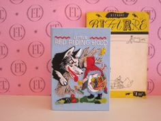 Little Red Riding Hood book-clutch by Olympia Le-Tan, special order.