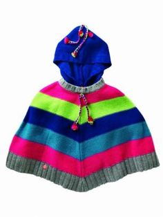 Poncho Fashion Kids, Kos, Kids Outfits, Winter Hats, Meet, Hoodies, Sweaters, Clothes, Outfits