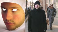 """Anti-surveillance mask lets you pass as someone else Uncomfortable with surveillance cameras? """"Identity replacement tech"""" in the form of the. Somehow there is art in this, but what art? Deliverable by drone to random person? Survival Life Hacks, Survival Tools, Camping Survival, Survival Prepping, Zombie Survival Gear, Spy Gadgets, Cool Gadgets To Buy, Tactical Survival, Tactical Gear"""
