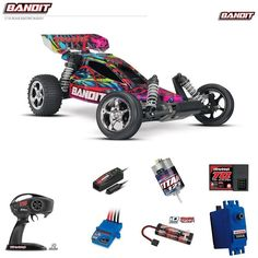 Just in..... Traxxas Bandit VX... and flying out the door. Grab one before they are all gone. http://twisted-hobby.myshopify.com/products/traxxas-bandit-vxl-1-10-scale-brushless-buggy-w-2-4ghz-radio-and-tsm-hawaiian?utm_campaign=social_autopilot&utm_source=pin&utm_medium=pin