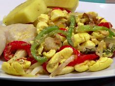 Ackee and Saltfish from FoodNetwork.com