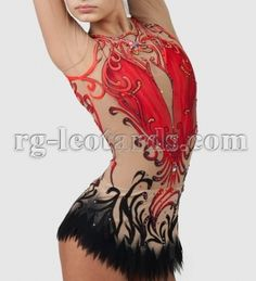 """Queen of Spades Gymnastics Leotard! Who knows what can bring you victory…The """"Queen of Spades"""" leotard is kindly attractive and strong! #rhythmicgymnastics #leotard #beauty"""
