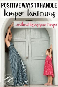 It can be easy to lose your temper when your toddler goes into a tantrum. Toddlers go through so many emotions during toddlerhood (age 1 to 3 years old). Love how in depth this blog post goes. It explains why your toddler is having a tantrum, how to deal