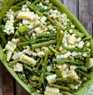 asparagus salad 3  Some interesting combos...