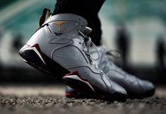 Air Jordan 7 Reflections of a Champion - Dr Wong - Emporium of Tings. Jordan 11 Bred, Jordan 7, Michael Jordan, Custom Made Jordans, Jordan 1 Royal, Jordan Shoes For Men, Jordan 11 Concord, Nike Airforce 1, Trekking